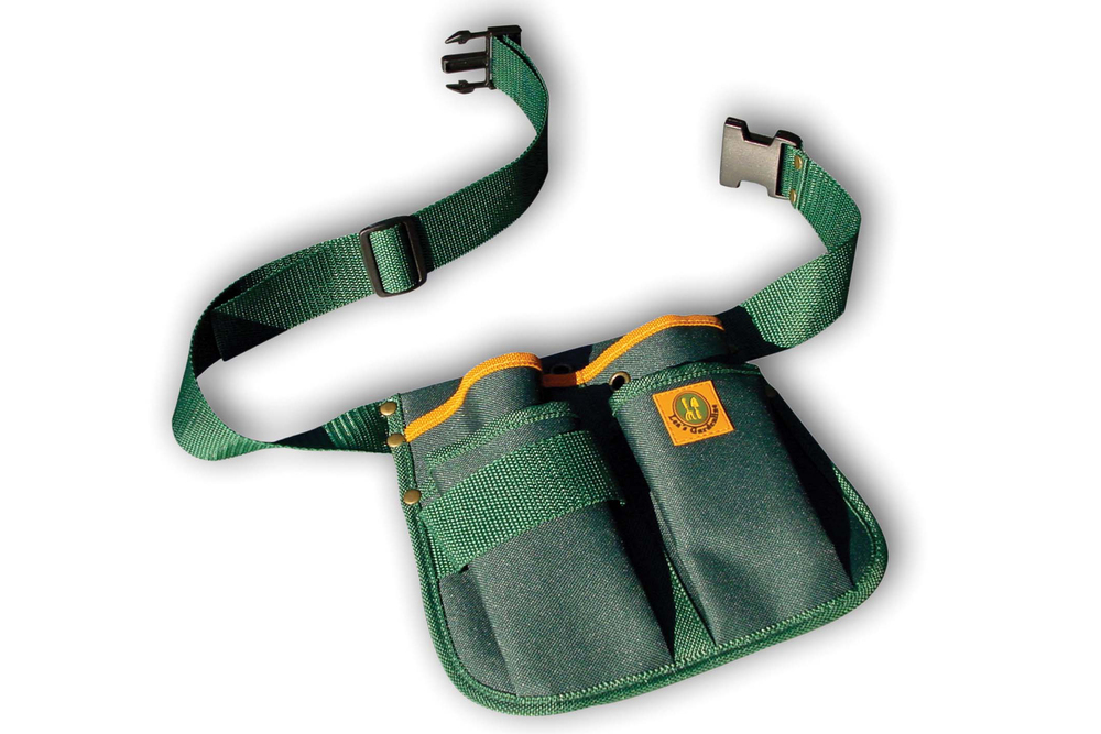 Gardener 39 s tool belt or pouch from planto for Gardening tools and accessories
