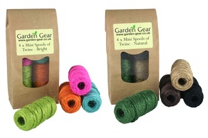 Four Mini Spools of Twine