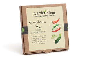 Greenhouse Veg Seed Collection