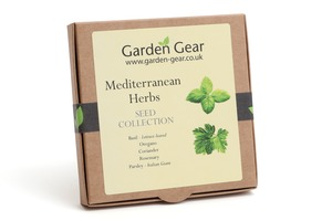 Mediterranean Herbs Seed Collection
